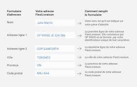 adresse bureau de poste comment utiliser votre adresse flexilivraison postes canada