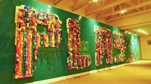 ag e murale bureau lego wall in office search office ideas