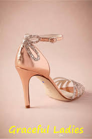 gold shoes for wedding gold glittered heel real wedding shoes pumps sandals gold