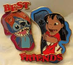 disney best friends pin of the month lilo u0026 stitch le 3000 2 pin