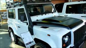 range rover truck in skyfall land rover defender 90 exterior u0026 interior 2 2 122 hp turbodiesel