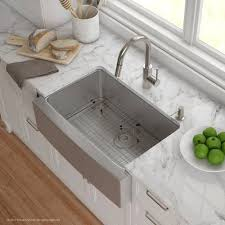 Kraus Handmade Series  X  Farmhouse Kitchen Sink With - Kitchen farm sinks