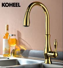 High Quality Kitchen Faucet Aliexpress Buy High Quality New Deluxe Pull Out Spray