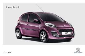 peugeot automobile 107 pdf handbook free download u0026 preview