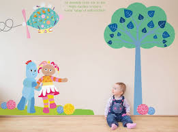in the night garden wall stickers home design delightful in the night garden wall stickers design