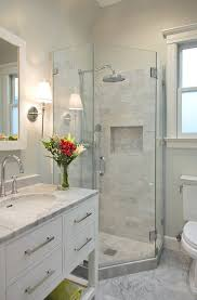Marble Bathroom Showers 17 Gorgeous Bathrooms With Marble Tile