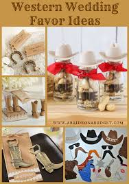 horseshoe party favors western wedding favor ideas a on a budget