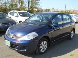 nissan tiida 2008 hatchback 2009 blue onyx nissan versa 1 8 sl hatchback 55236242 gtcarlot