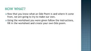 Rhyme Scheme Worksheet Starter What Is Poetry Have You Ever Written A Poem Before Ppt