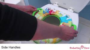 Mickey Mouse Potty Seat Instructions by Bedwetting Store Sesame Street Safari Soft Potty Seat Youtube