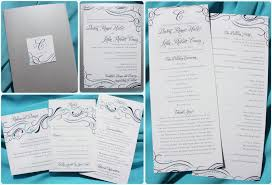 how to create wedding programs program to make own wedding invitations picture ideas references