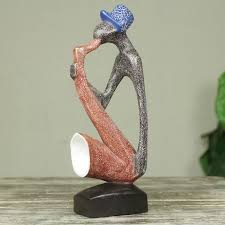 novica abdulai osman adam abstract musician carved and
