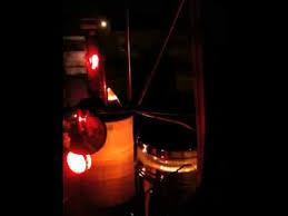 peterbilt air cleaner lights gentleman lit up at night youtube