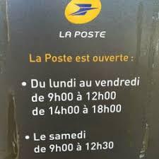 bureau de poste ouvert le samedi la poste bureau de poste 15 route de blagnac sept deniers