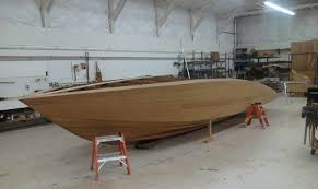 home built and fiberglass boat plans how to plywood ski how to build a timber speed boat google search boats pinterest