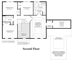 Center Hall Colonial Floor Plans Hamlet Pointe Quick Delivery Home Ellsworth Ii Colonial