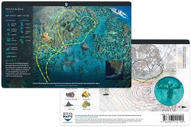Florida Shipwrecks Map by Ocean Maps Just Released A New 3d Dive Map Application X Ray Mag