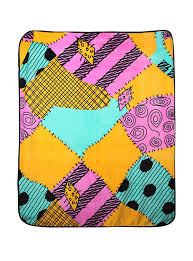 the nightmare before sally print throw topic