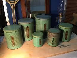 100 metal kitchen canisters 3128 galvanized metal canisters