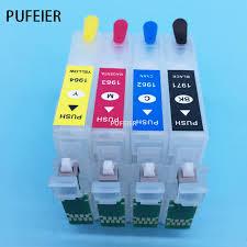 reset epson xp 211 botones t1971 t1962 t1964 cartucho recargable con botón de reinicio chip