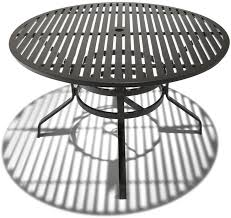 Excellent Decoration  Inch Round Outdoor Dining Table - 60 inch round wrought iron outdoor dining tables