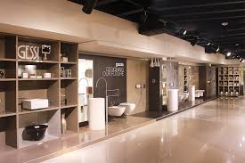 gessi showroom display elames showroom and behzad group head gessi showroom display
