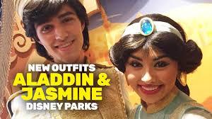 aladdin u0026 jasmine debut costumes disney theme parks