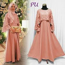 dress pesta dress pesta hijabers harga rp 150 000 bahan