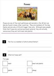 free reading comprehension worksheets ks2 uk deployday