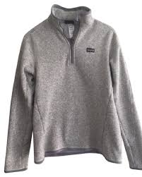 patagonia s better sweater patagonia grey s better sweater 1 4 zip activewear size 4 s