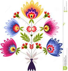 Traditional Design Polish Ornament Stock Photo Image 32265300