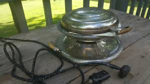 vintage royal robeson rochester chrome1920 u0027s antique waffle iron
