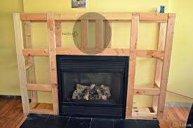 Electric Fireplace Insert Framing The Electrical Fireplace Insert And Or Building A Faux