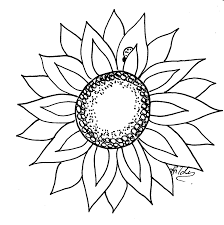 sunflower template free download clip art free clip art on