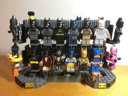 i upgraded the batcave u0027s costume conveyor belt to store my batman