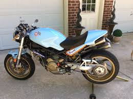 gulf oil racing ducati monster s2r1000 paint by scott moore www