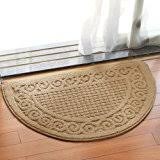 Half Round Kitchen Rugs Amazon Com Textured Weaves Half Round Kitchen Rug Skid Resistant