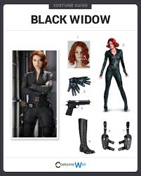 Halloween Costume Black Widow Dress Black Widow Costume Halloween Cosplay Guides