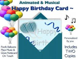 second marketplace two animated musical happy birthday