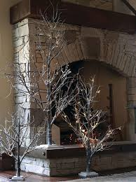 lighted tree branches home decor remarkable lighted tree home
