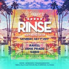 prado halloween party 2017 the saguaro palm springs presents rinse independence edition