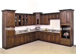 China American Solid Wood Birch Kitchen Cabinet Stained Birch - Birch kitchen cabinet