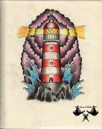 tattoo sketch lighthouse by tausend nadeln deviantart com on