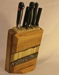 how to make kitchen knives diys inspired by anthropologie diy knife block rustic kitchen