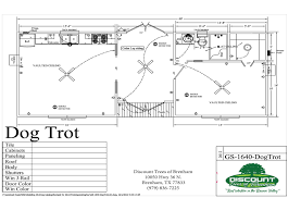 Dogtrot House Floor Plan by Dogtrot