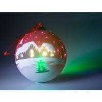 fiber optic ornaments