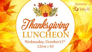 victory 55 thanksgiving luncheon victory international church