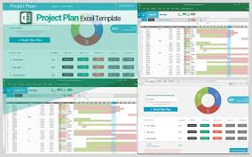 Excel Tables Templates Project Plan Template Single Advanced Ex Ptasso