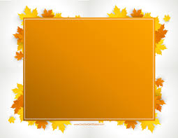 free thanksgiving border templates customizable u0026 printable