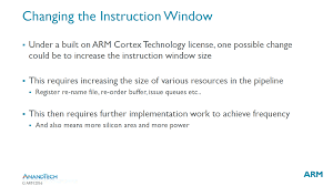 Window Technology Arm Details Built On Arm Cortex Technology License